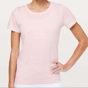 Lululemon Swift Tee in Light Pink